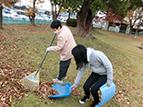障害者週間地域清掃