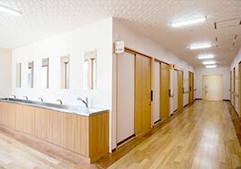 廊下・手洗コーナー